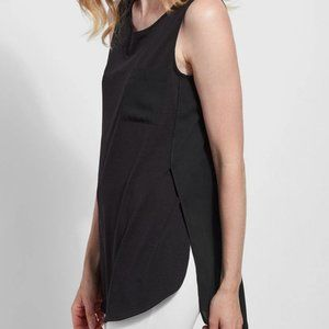 Lysse Caterina Sleeveless Top Black